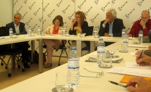 J. Sarriá, R. Sánchez, A. Aza, R. Soler y M. Gahete.