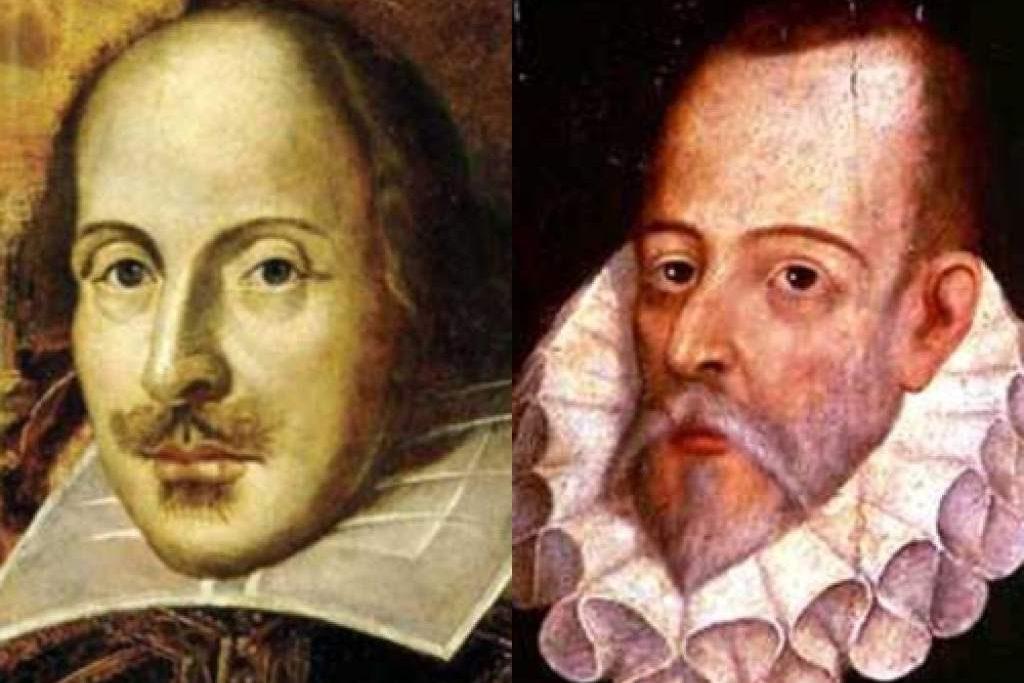 Shakespeare-y-Cervantes